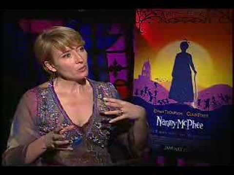 Emma Thompson interview for Nanny McPhee