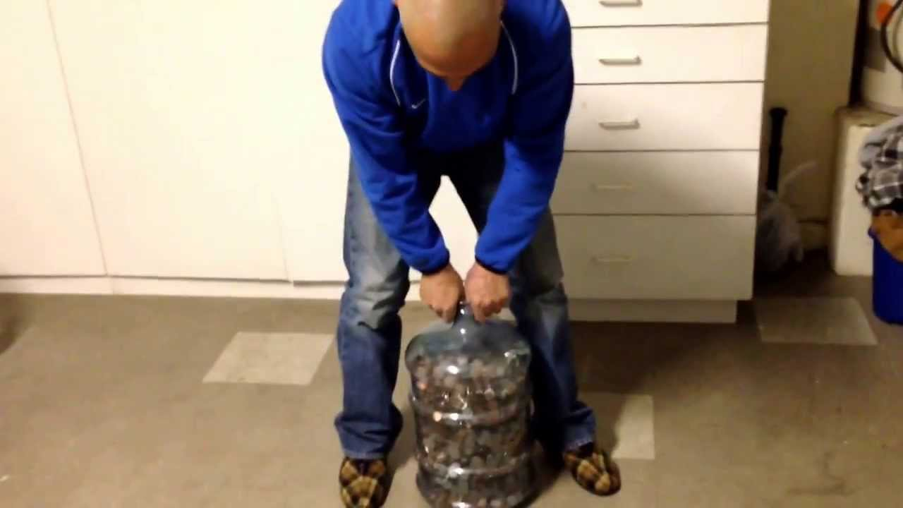 counting 5 gallons worth of change youtube