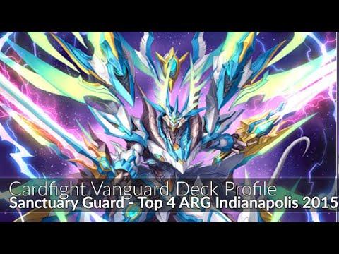Sanctuary Guard - Top 4 ARG Indianapolis - Cardfight Vanguard Deck Profile 2015