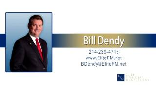 Bill Dendy talking about the Dow live on the radio in Houston
