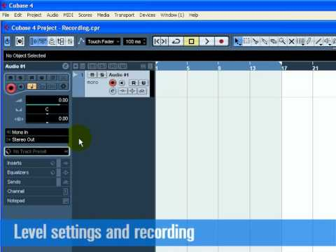 Download Cubase 5 * How to  Record Audio