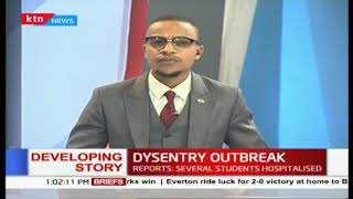 Dysentry outbreak in Ng'iya Girls in Siaya county as several students are hospitalised