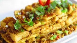 Hướng dẫn cách làm đậu xào sả ớt   StirFried Tofu With Lemongrass And Chili ngon hấp dẫn