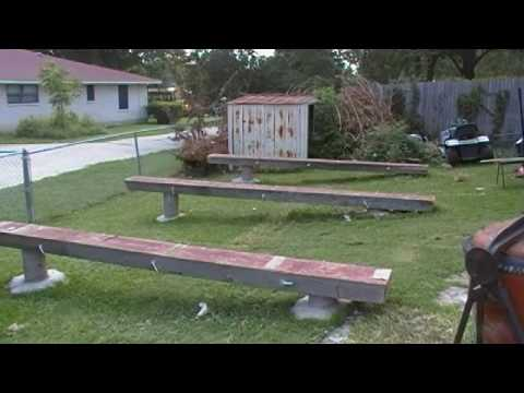 Backyard Shop Pt 1 Leveling The Playing Field Youtube