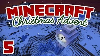 Minecraft Advent - Day 5 | ICE BIG BEN! | A Minecraft Let