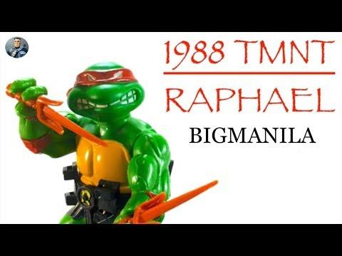 1988 Vintage Teenage Mutant Ninja Turtles - Raphael