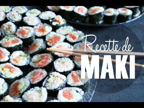 recette-maki-maison