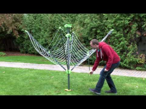 Folding Outdoor Clothes Dryer