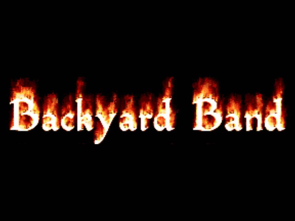 Song of the day: backyard band