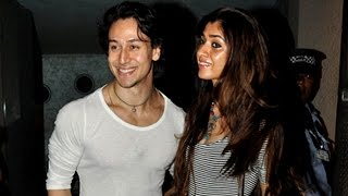 Tiger shroff Spotted With Girlfriend | Bollywood Hot