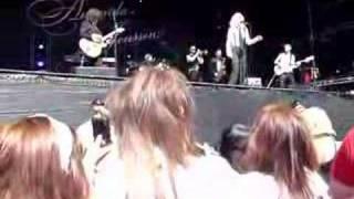 Amanda Jenssen performing Do You Love Me in Kalmar