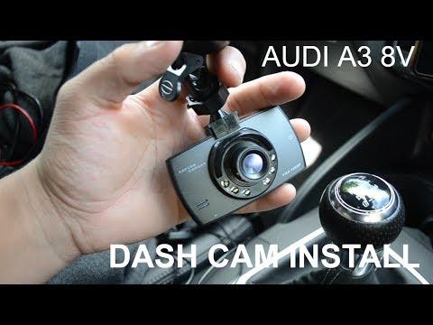 DASH CAM INSTALL  (AUDI A3 8V)