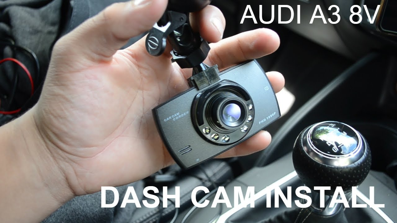 dash cam install audi a3 8v youtube. Black Bedroom Furniture Sets. Home Design Ideas