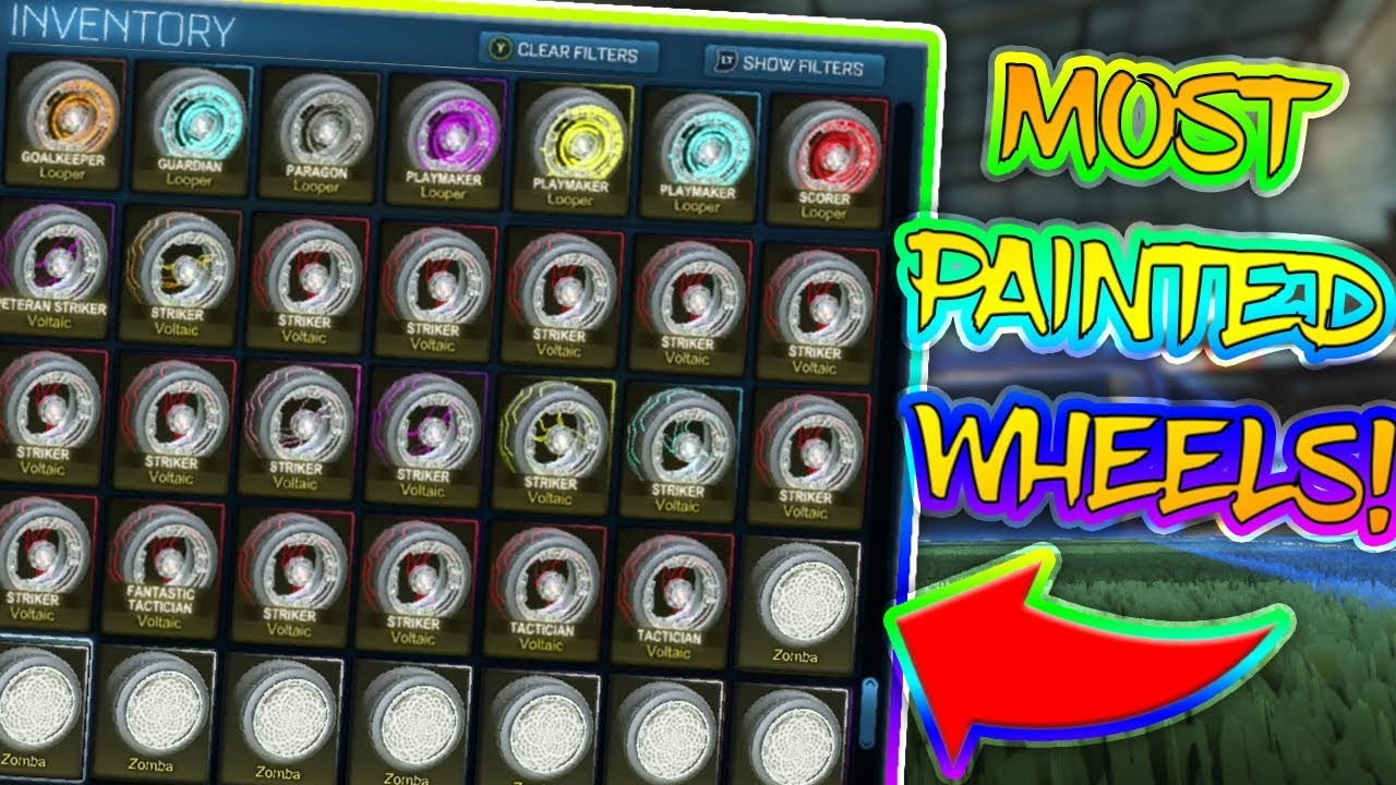 MOST PAINTED WHEELS | STRIKER SETS! | BEST TRADER | *$10,000* | (Not ...