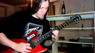 Cacophony - Sword of the warrior (guitar cover)