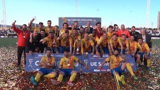 FC Vilafranca - UE Sant Andreu. Final de la 30a Copa de Catalunya