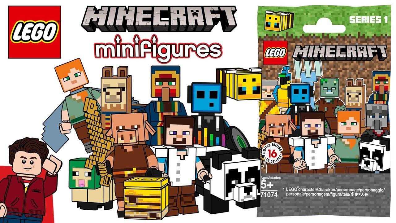 LEGO Minecraft CMF Series 12 - YouTube