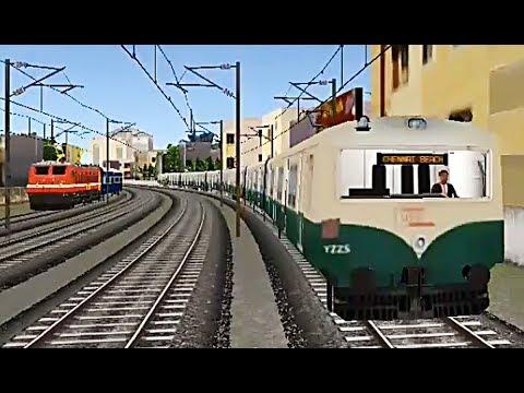 Local Train Simulator: India - Drive - Chennai Local - Tambaram to Nungambakkam