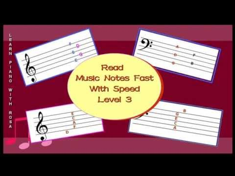 Learn to Read Music Notes Fast with Speed