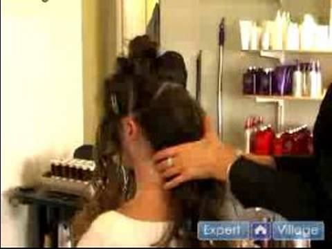 Wedding Day Hairstyles : Three Ponytail Up-Do Hairstyle: Wedding Hairstyles thumbnail