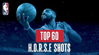 Top 60 H-O-R-S-E Shots: 2018 NBA Season