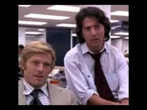 Musique film - Les hommes du president 1976 ( Robert Redford ).