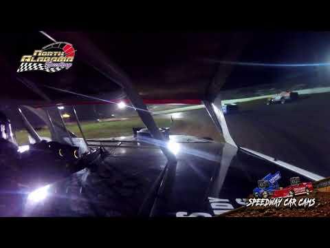 #50 Casey Ledlow - Open Wheel - 7-14-18 North Alabama Speedway - In Car Camera