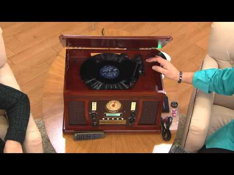 Ships 12/10 Aviator Recordable 7-in-1 Wooden Music Center with Rick Domeier