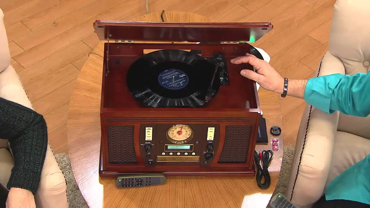 Ships 1210 Aviator Recordable 7 In 1 Wooden Music Center With Rick Domeier