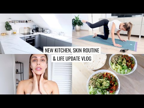 vlog- -kitchen-update,-morning-skincare-routine-&-staying-home- -annie-jaffrey