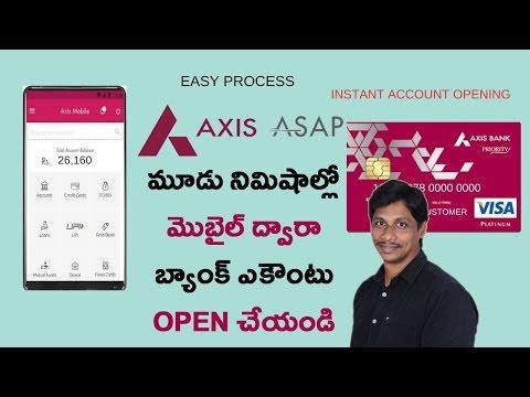 Open Axis Bank