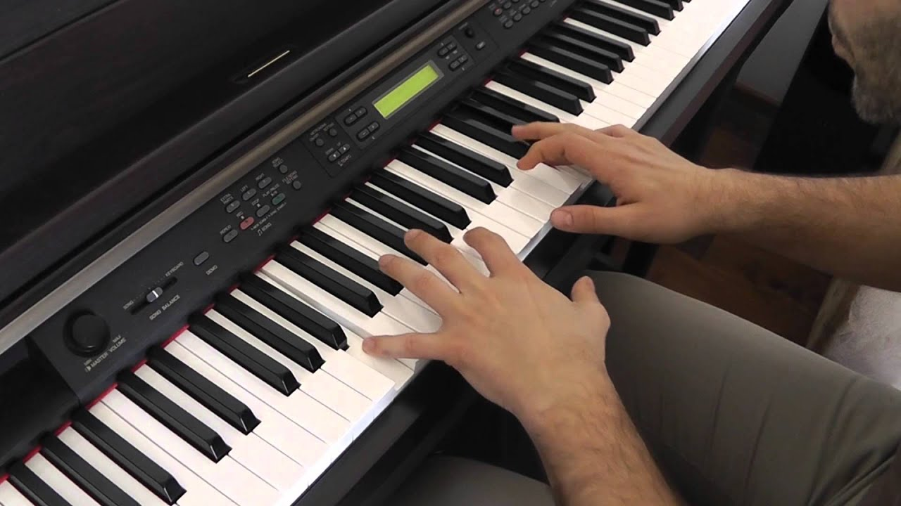 how to play wherever you will go on piano