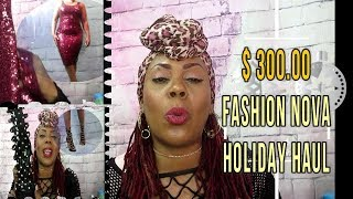 $300 Fashion Nova Holiday Try-On Haul