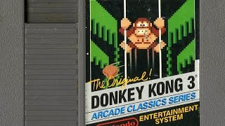 CGR Undertow - DONKEY KONG 3 review for NES