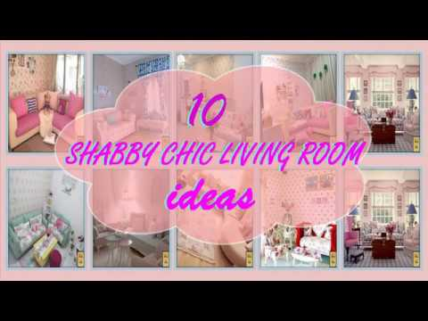 10 Ide Desain Ruang Tamu Shabby Chic Shabby Chic Living Room Decoration Idea