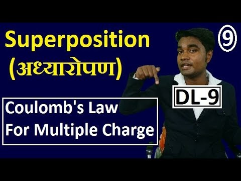 [DL-9] Force between multiple charge || Superposition of Electric force