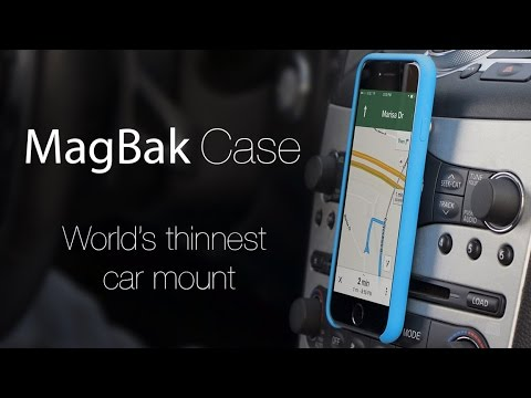 car iphone mount magbak the best iphone car mount 9714