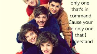 One Direction -Only Girl In The World- Lyrics On Screen