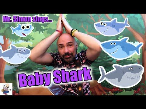 Baby Shark Song | Mr. Simon | Children's Music