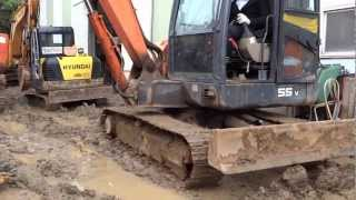 [Autowini.com] Korean used Excavator - Daewoo S55VS (Hyundai12-045)