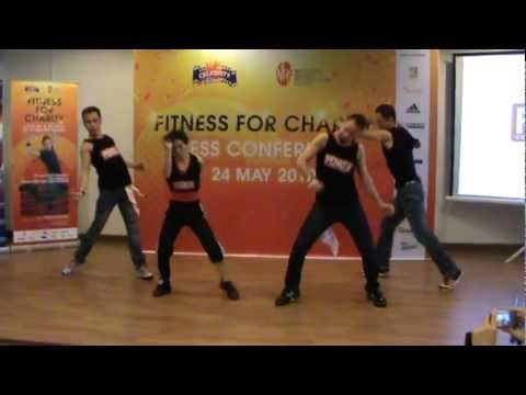 """Fitness for Charity"" Press Conference - DNA Perrea Performance"