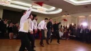 Armenian Men Surprise Dance At Wedding