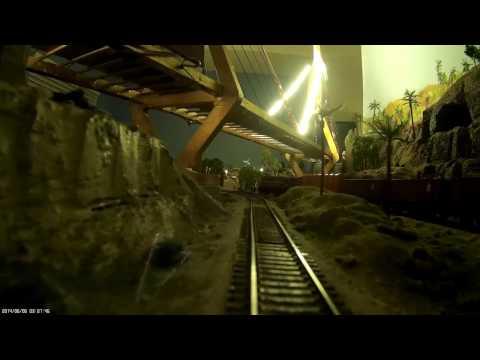 Night Train from Bombay to Delhi - Drivers prespective