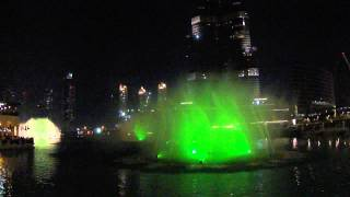 Dancing Fountain - The Dubai Mall