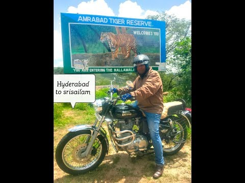 Hyderabad to Srisailam By bike - beautiful place