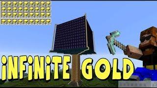 Massive Minecraft Gold Farm Built in Overworld!!! Crazy!!