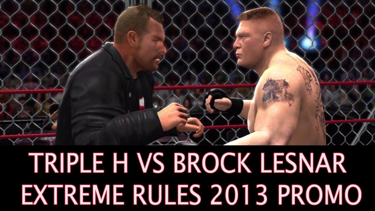 Brock Lesnar Vs Batista 2013 Brock Lesnar In Extrem...