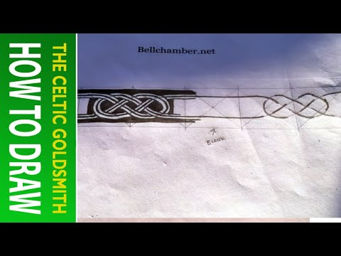 How to Draw Celtic Knots 10 - Möbius 7th century