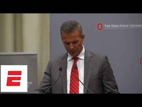 Ohio State press conference on Urban Meyer 3-game suspension | ESPN