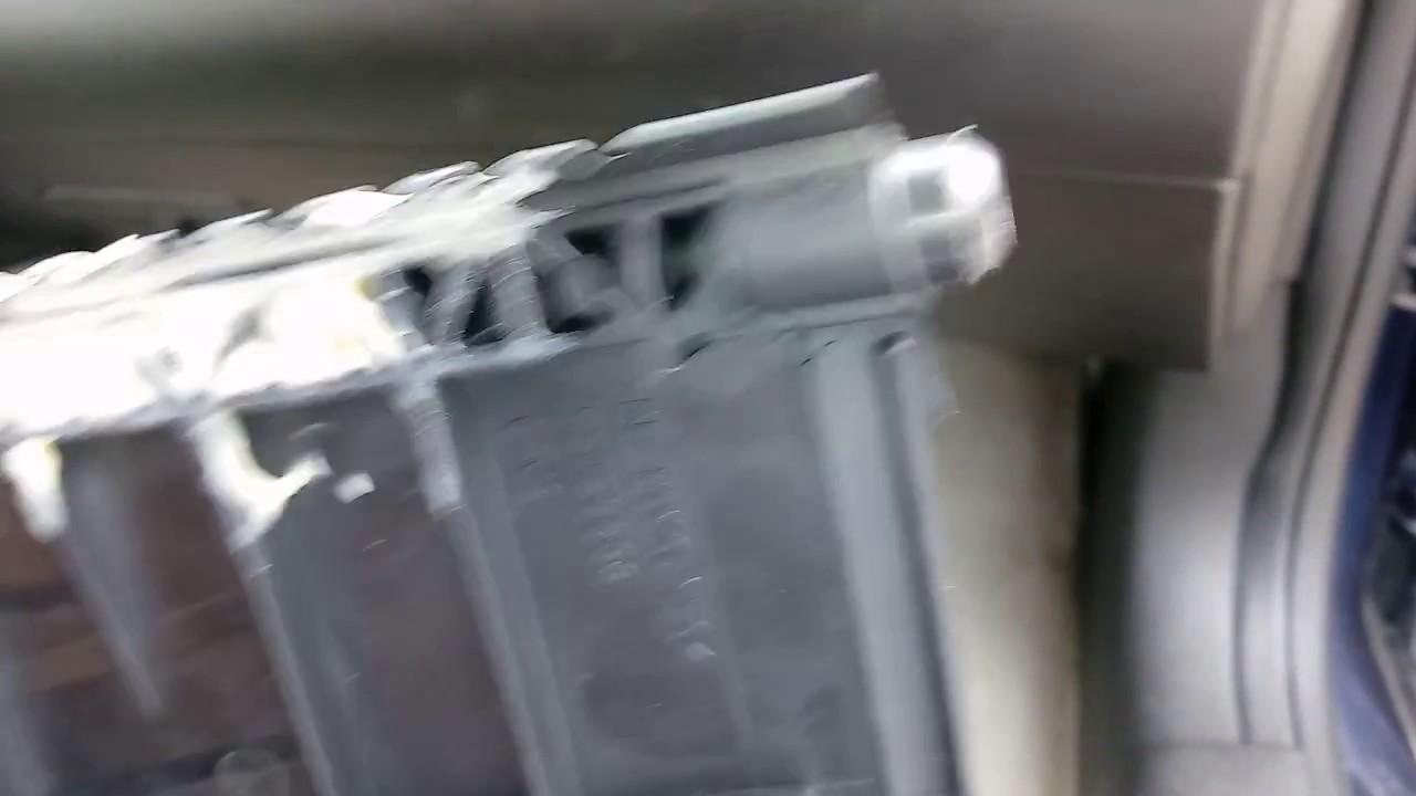 2012 Chevy Camaro Heater Blend Door Installation  YouTube